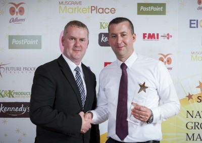 Large Supermarket Manager of the Year - Mark Glynn