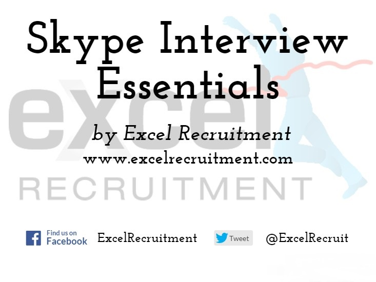 Skype Tips for Job Interviews