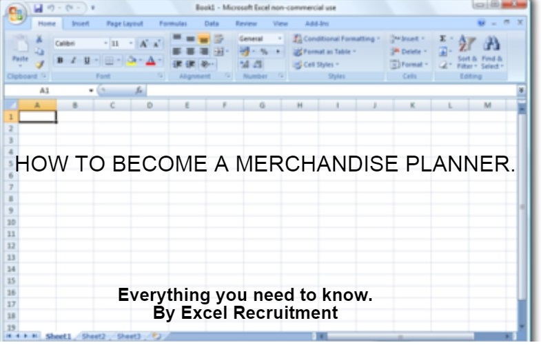 How to become a Merchandise Planner