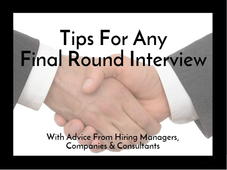 Tips for Final Round Interviews