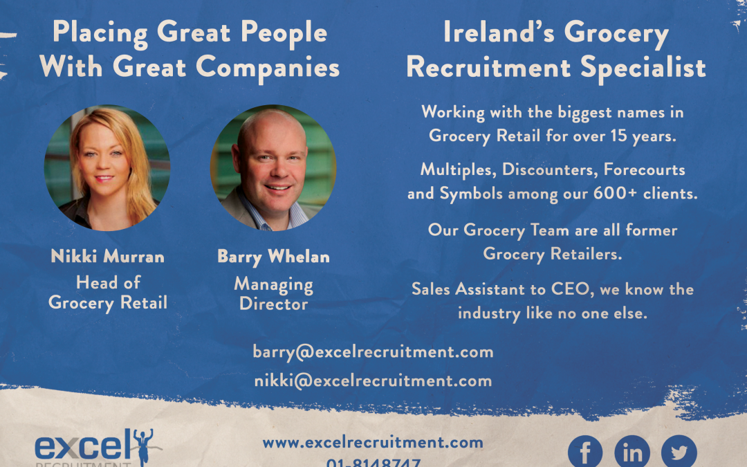 Grocery Retail Recruitment Experts in Dublin City Centre