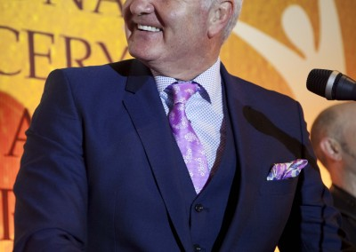 MC for the evening Brent Pope