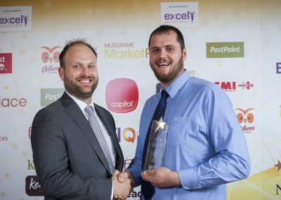 Small Forecourt Manager of the Year - Ashley Folder