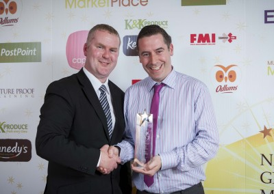 Medium Supermarket Manager of the Year - Kevin O'Connor