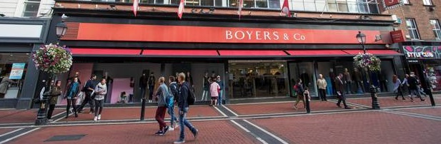 Sports Direct buy Boyers building