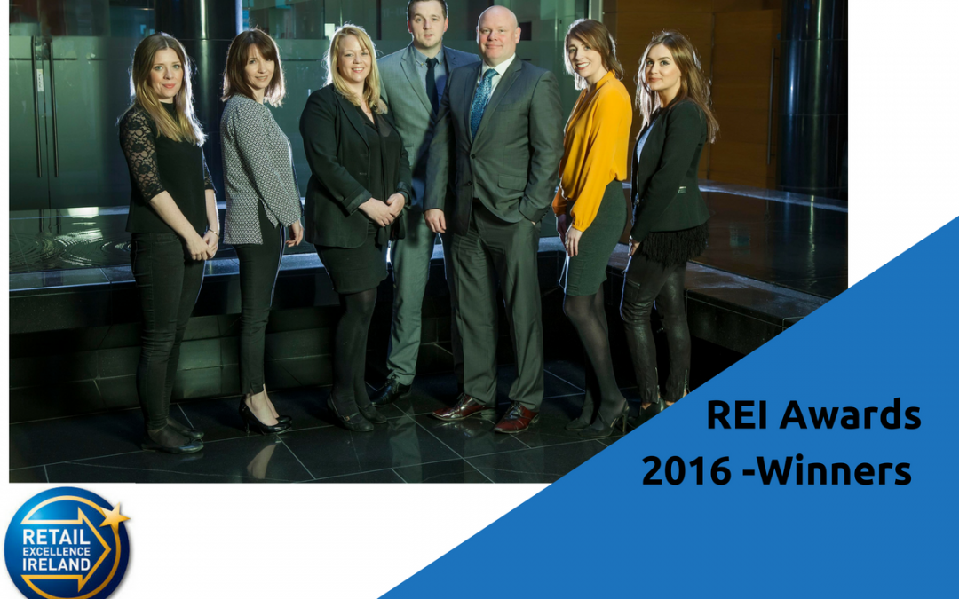Retail Excellence Awards 2016 – Winners