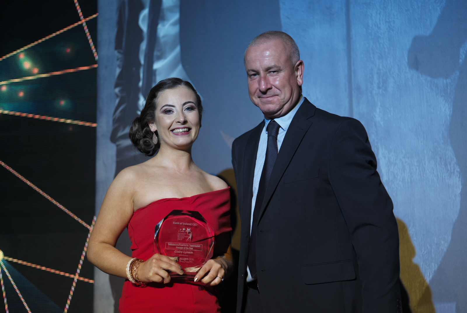 Supermarket Deli/Food-to-Go Manager of the Year Claire Lynam of SuperValu Castletroy
