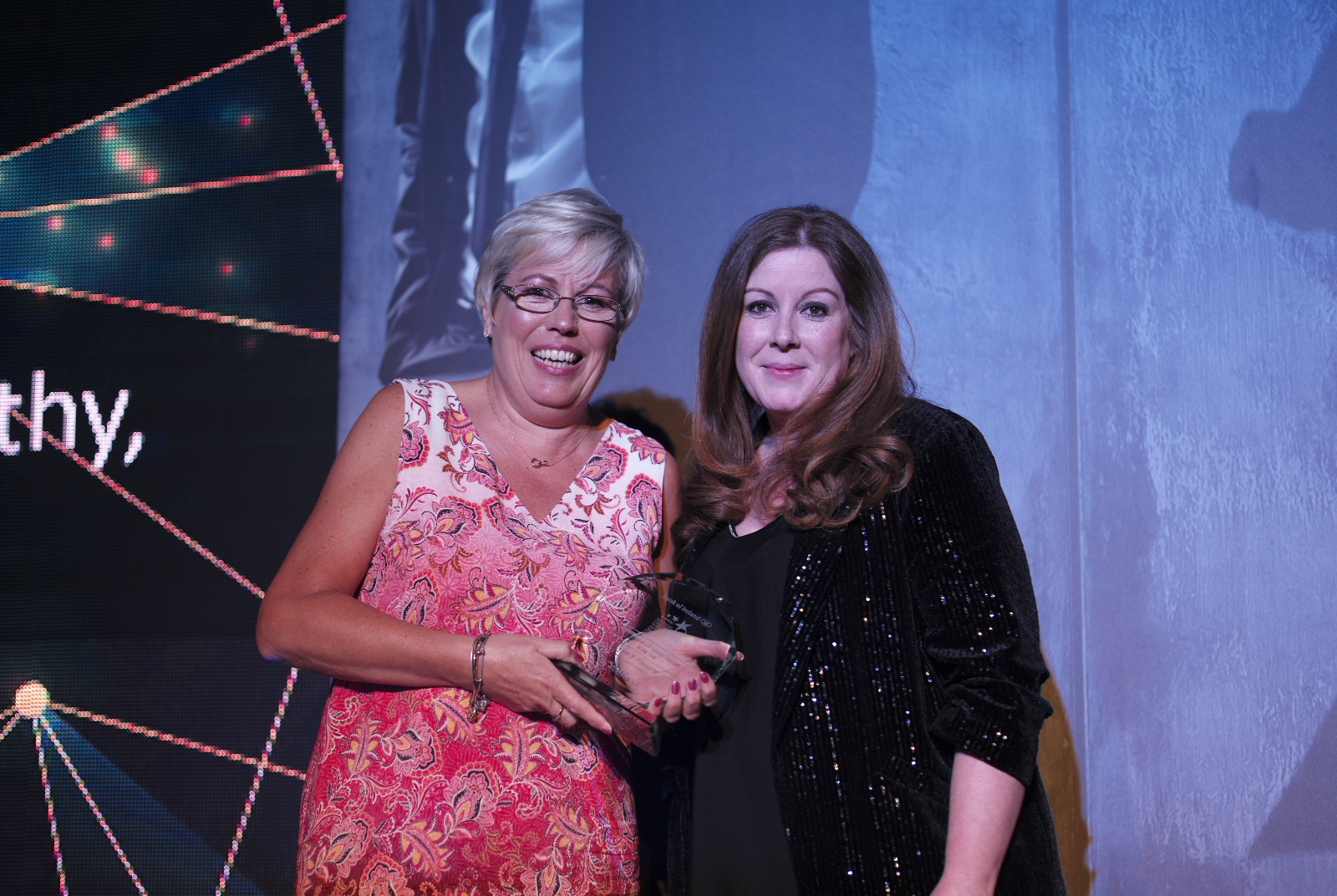 Supermarket Off-Licence Manager of the Year, Mary Murphy of SuperValu Enniscorthy,