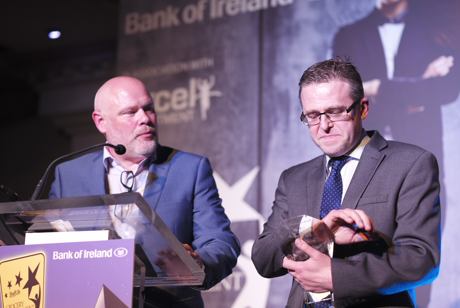 CEO Barry Whelan announces 2019 Grand Supreme Manager of the Year