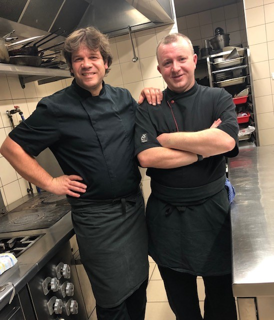 Excel Recruitment's Director and ex-chef Shane Mclave discusses donning his chef whites for the first time in 12 years