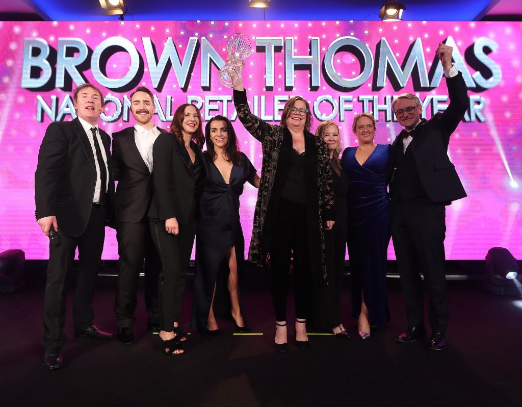 Brown Thomas win National Retailer of they Year